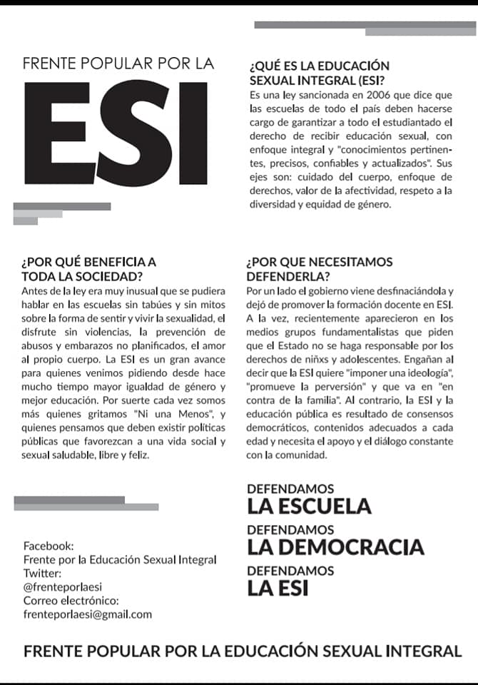 Educación Sexual Integral PARA DECIDIR